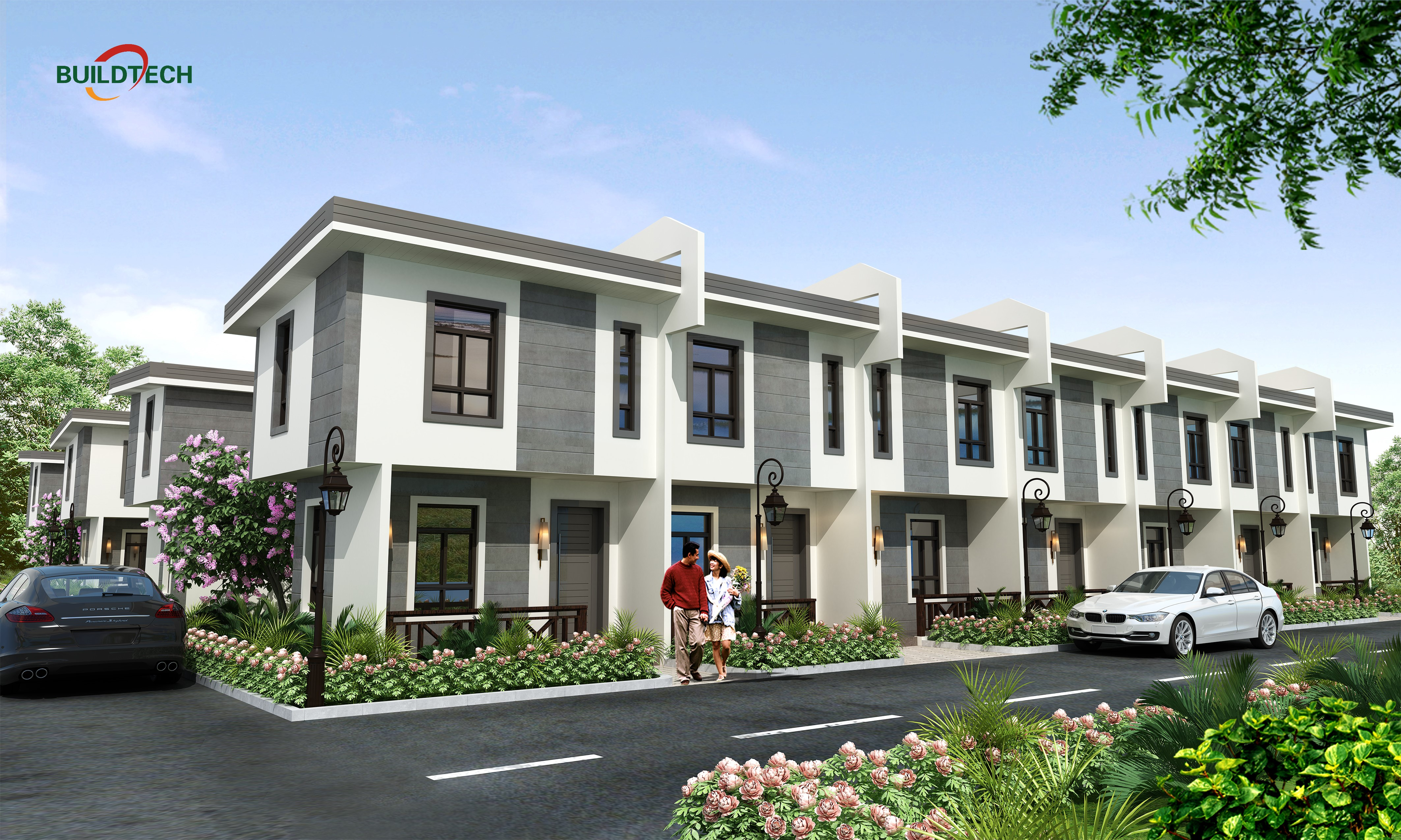 Product Introduction: 48m² Philippines Townhouse